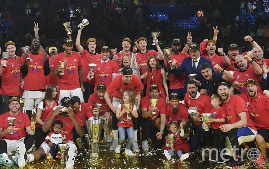 Армейцы выиграли четвёртый титул в новой истории. Фото AFP