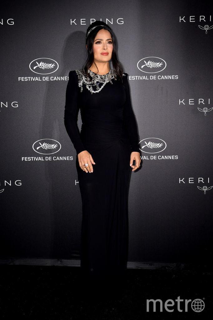 Каннский кинофестиваль. Сальма Хайек. Фото Getty