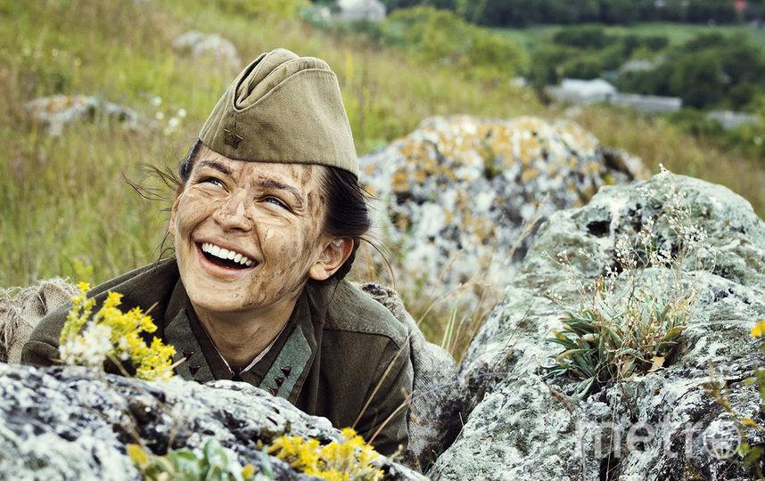 "Кадр из фильма ""Битва за Севастополь""."
