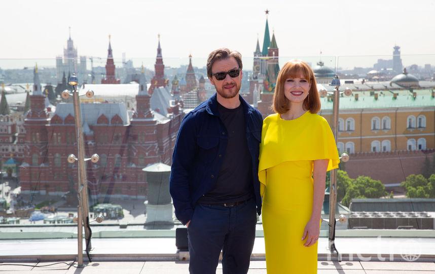 Джеймс МакЭвой и Джессика Честейн. Фото Василий Кузьмичёнок