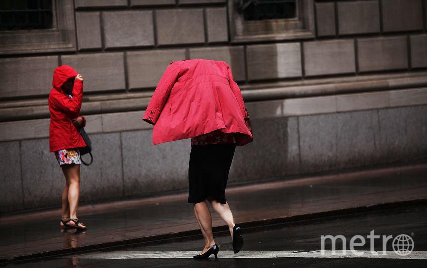 Дожди возвращаются в Петербург. Фото Getty