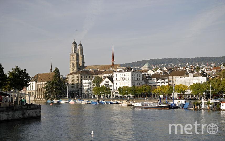 Швейцарский город Цюрих. Фото Getty