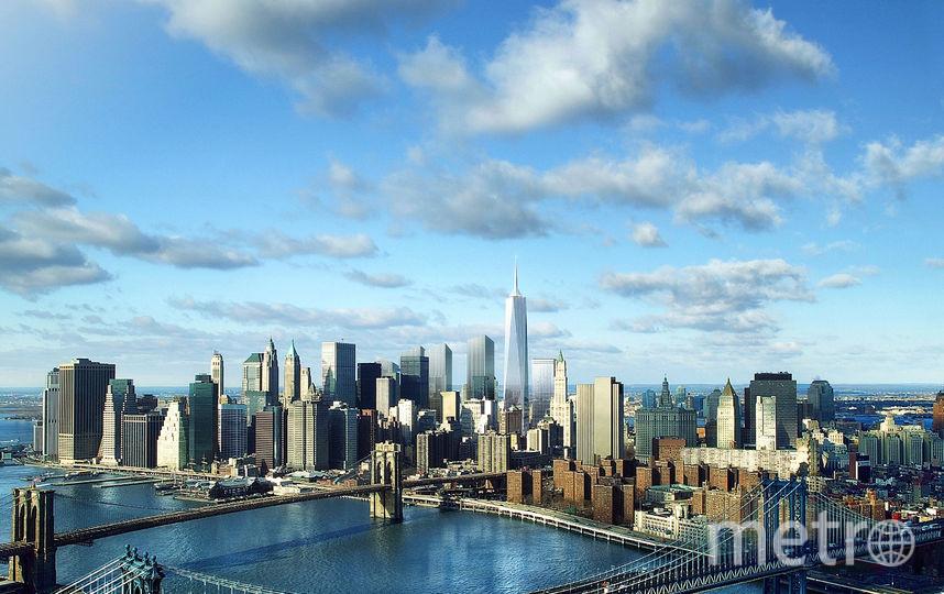 Американский город Нью-Йорк. Фото Getty