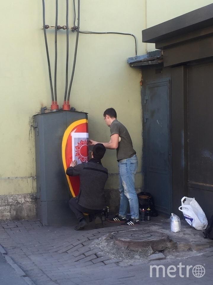 Работа над электрическими щитками. Фото mytndvor, vk.com