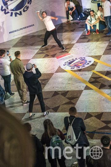 В австрийском Зальцбурге прошёл финал международного конкурса Red Bull Paper Wings. Фото Предоставлено организаторами