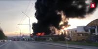 В кемеровском автосалоне потушили серьезный пожар