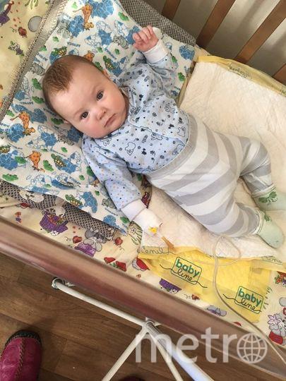 Четыре месяца маленький Захар находится в больнице. Фото Антон Котенко, Предоставлено организаторами