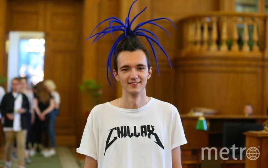 Леонид Лукашевич. 18 лет, студент. Фото Василий Кузьмичёнок
