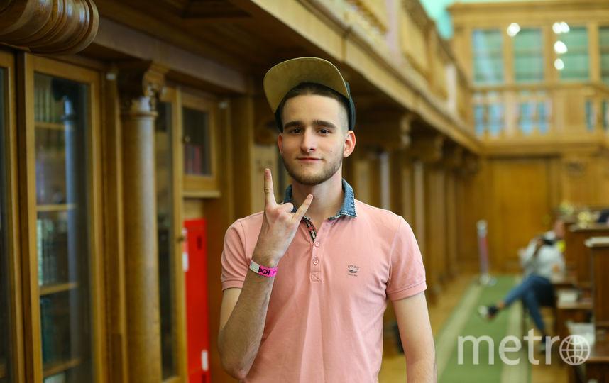 Алексей Задворский. 18 лет, студент. Фото Василий Кузьмичёнок