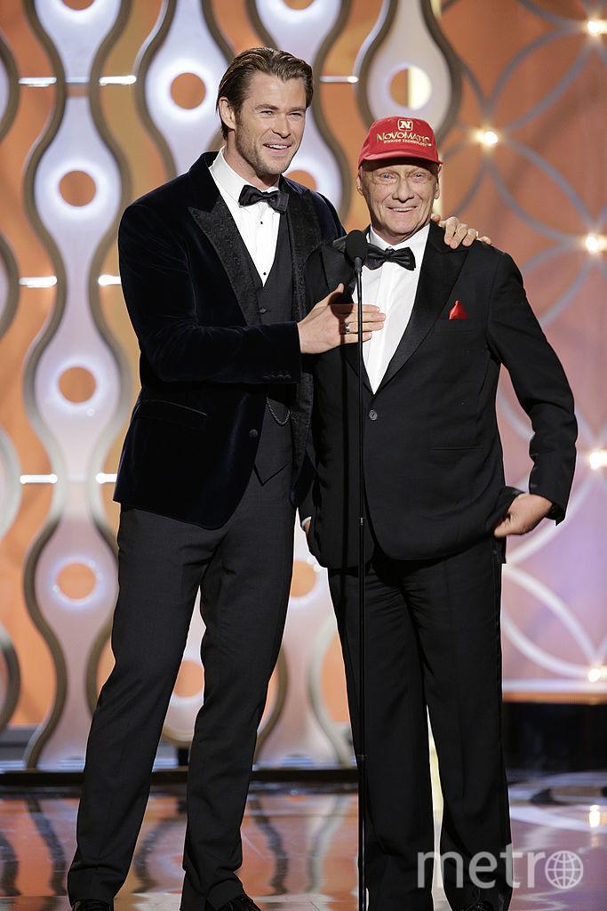 Ники Лауда и Крис Хемсворт. Фото Getty