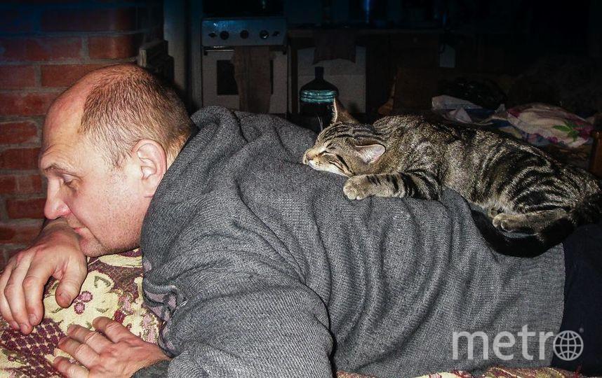 """На фото я с Умкой отдыхаю в новогодние каникулы на даче.. Фото Андрей Павлов, """"Metro"""""""