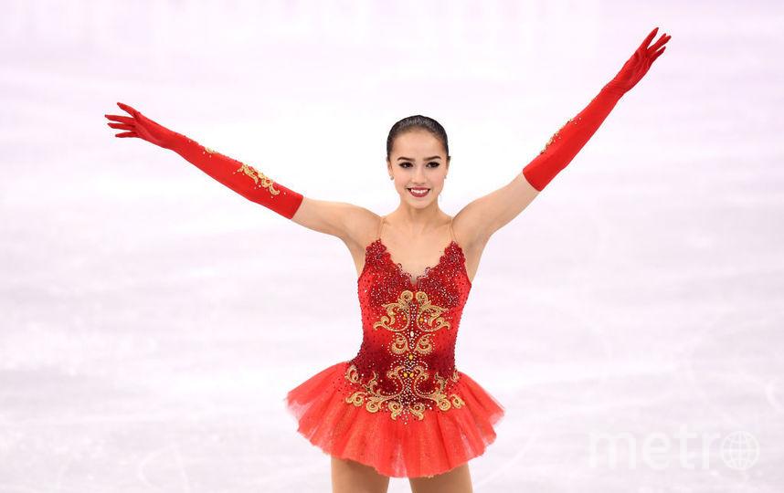 Олимпийская чемпионка 2018 года Алина Загитова. Фото Getty