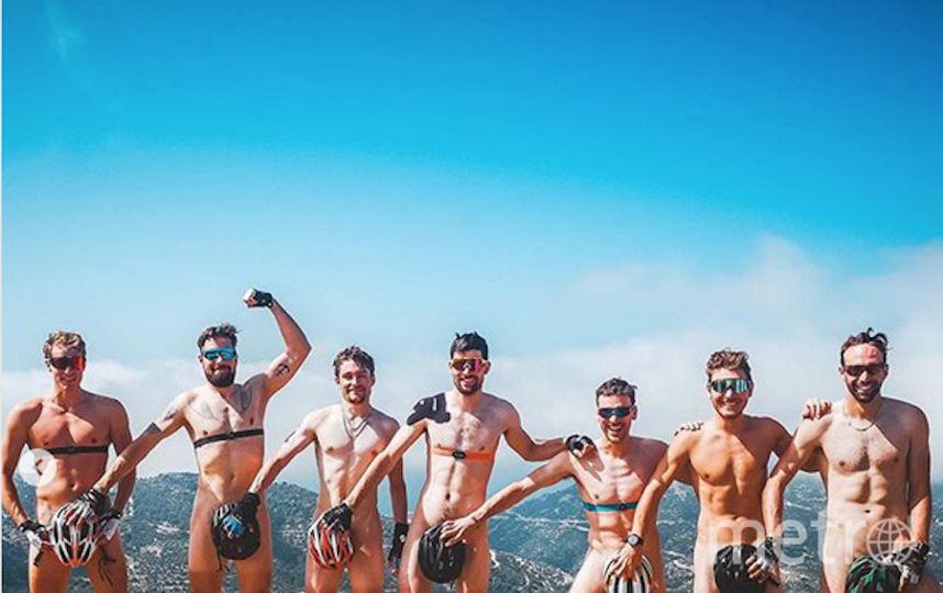 Швейцарские биатлонисты опубликовали смелое фото. Фото Другой https://www.instagram.com/benjamin.weger/