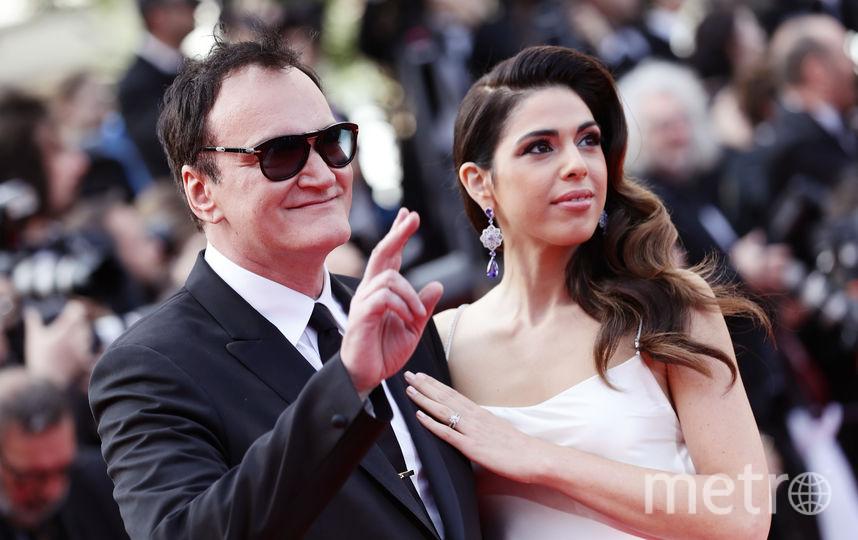 Квентин Тарантино с супругой Даниэлой Пик. Фото Getty