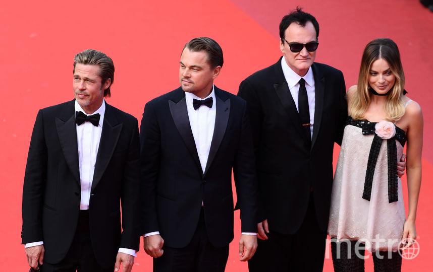 Брэд Питт, Леонардо Ди Каприо, Квентин Тарантино, Марго Робби. Фото Getty