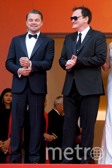 Леонардо Ди Каприо и Квентин Тарантино. Фото Getty