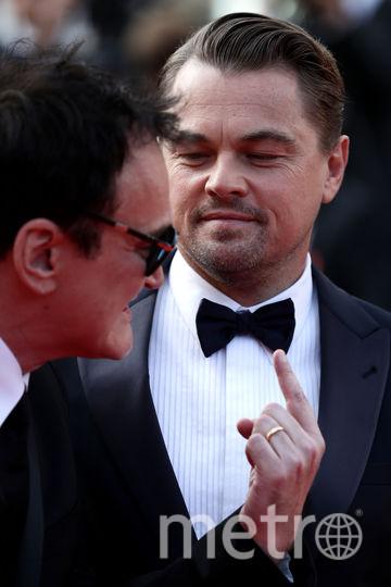 Квентин Тарантино и Леонардо Ди Каприо. Фото Getty