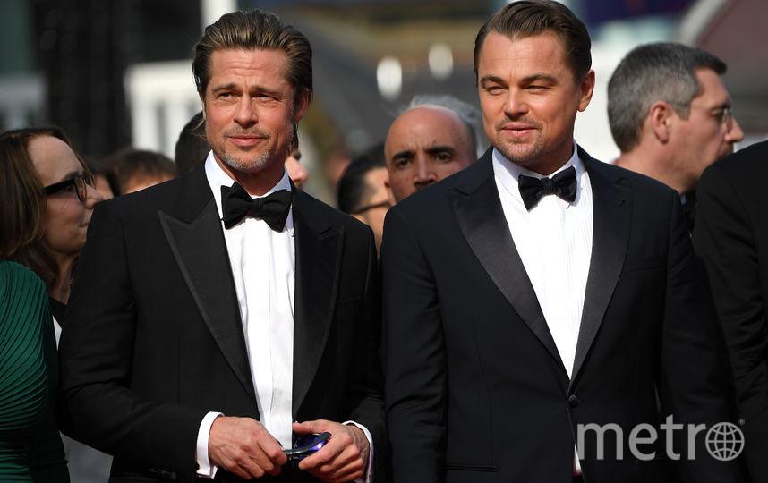 Брэд Питт и Леонардо Ди Каприо. Фото Getty