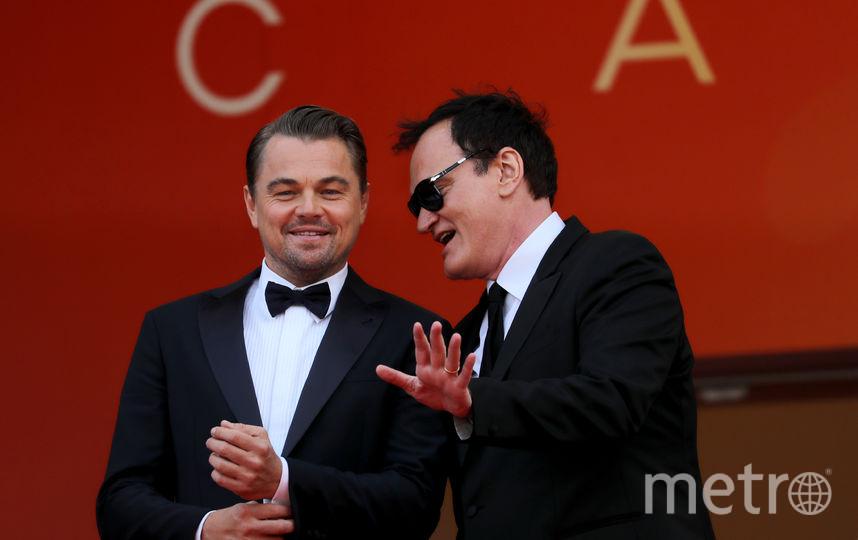 Леонардо Ди Каприо и Квентин Тарантино. Фото AFP