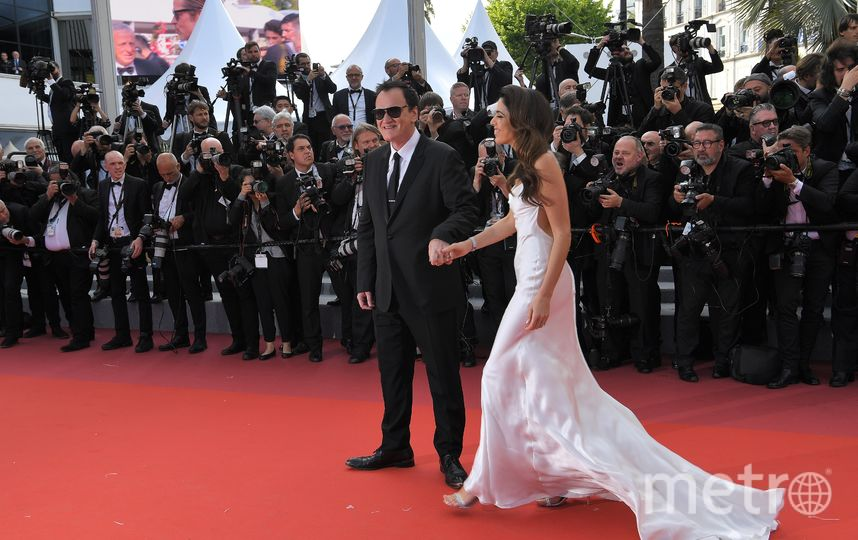 Квентин Тарантино с супругой Даниэлой Пик. Фото AFP