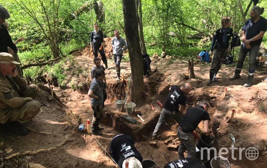 В раскопках участвуют не только археологи, но и студенты из российских и французских вузов. Фото предоставлено Пьером Малиновским