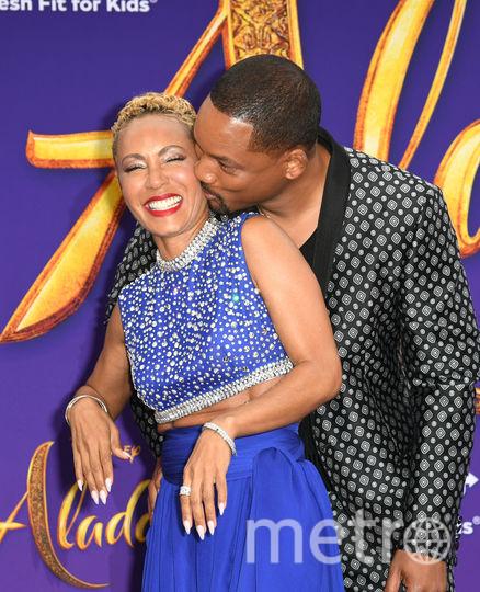 Уилл Смит с женой Джадой Пинкетт-Смит. Фото Getty