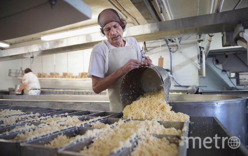 Молочная продукция. Фото Getty