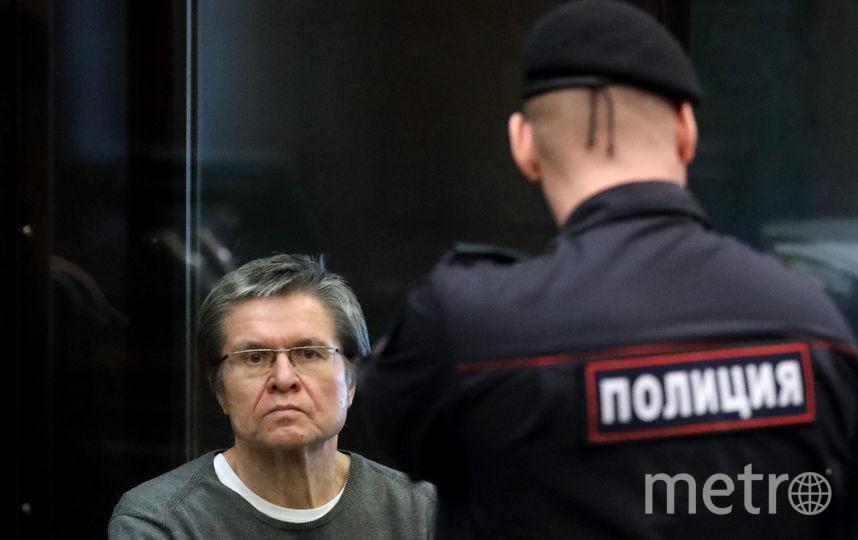 Алексей Улюкаев в зале суда. Фото Getty