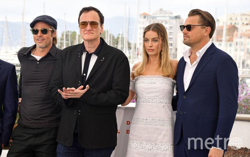 """Квентин Тарантино на премьере """"Однажды в Голливуде"""". Фото Getty"""