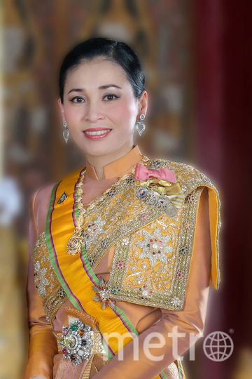 Королева Таиланда в традиционном платье. Фото prd.go.th