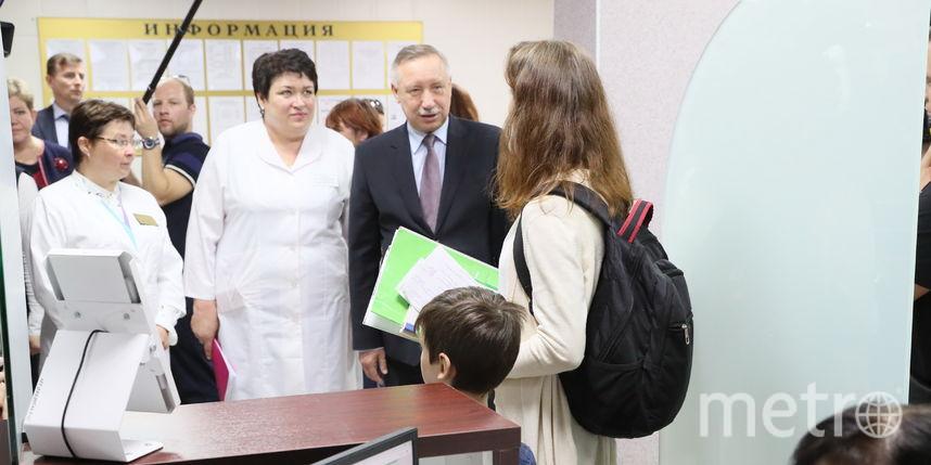Поликлиники Петербурга станут