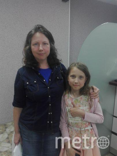"""Елизавета Барашкова и дочь Ксения. Фото """"Metro"""""""