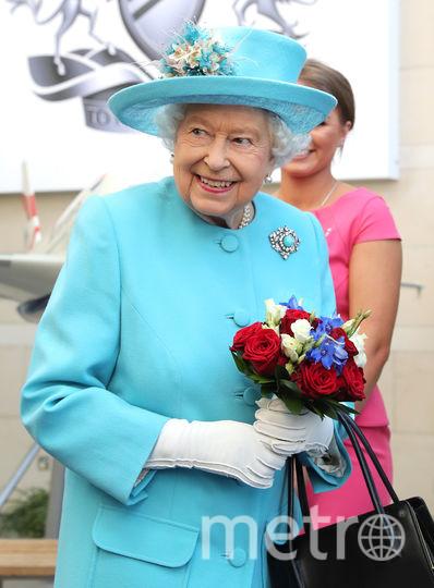 Елизавета II встретилась с сотрудниками Бртанских Авиалиний. Фото Getty