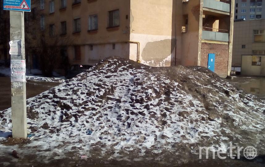 Снег в марте. Фото предоставил Александр Чаузов