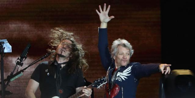 Группа Bon Jovi вытупит в Москве 31 мая.