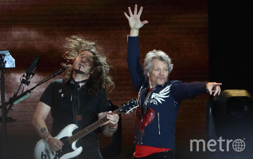 Группа Bon Jovi вытупит в Москве 31 мая. Фото Getty