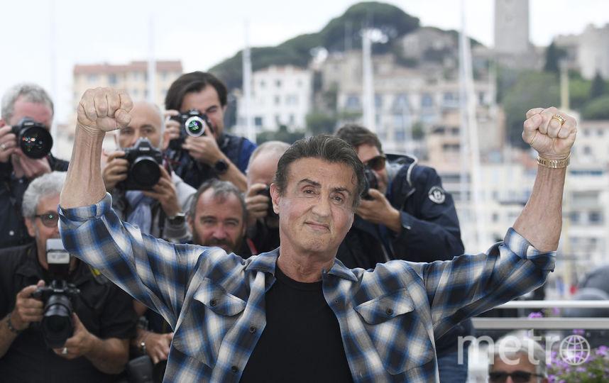 Сильвестр Сталлоне. Фото AFP