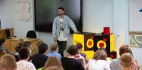 Noize MC стал учителем музыки в московской школе: репортаж