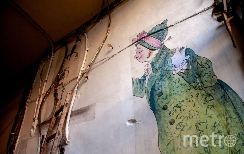 На фасаде здания появилась фреска Михаила Шемякина. Фото Юлия Кудряшова-Белокрыс