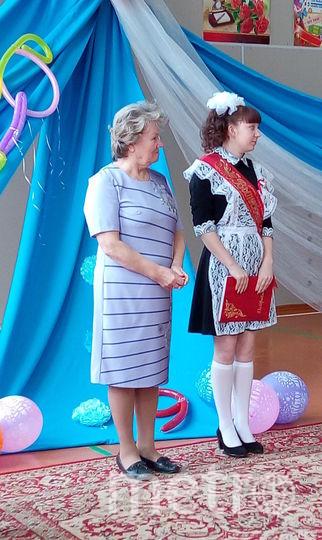 Последний звонок, Татьяна Апаликова. Фото предоставила Татьяна Апаликова