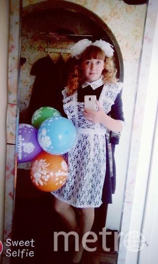 Школьница Татьяна Апаликова. Фото предоставила Татьяна Апаликова