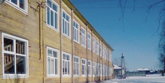 Школа в Ершово.