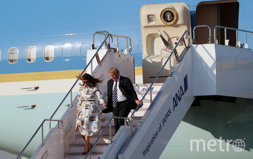 Дональд и Мелания Трамп прибыли в Японию с официальным визитом. Фото Getty