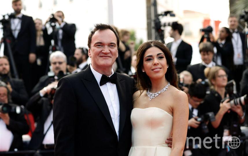 Квентин Тарантино с супругой. Фото Getty