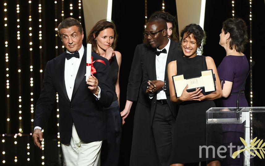 Сильвестр Сталлоне объявил победителя. Фото Getty