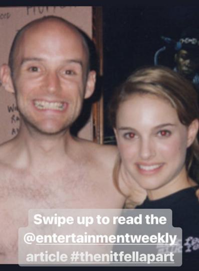 Моби и Натали Портман. Фото Скриншот https://www.instagram.com/moby/