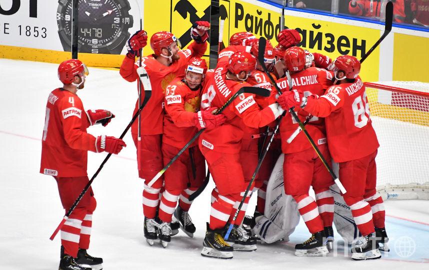 Сборная России по хоккею. Фото AFP