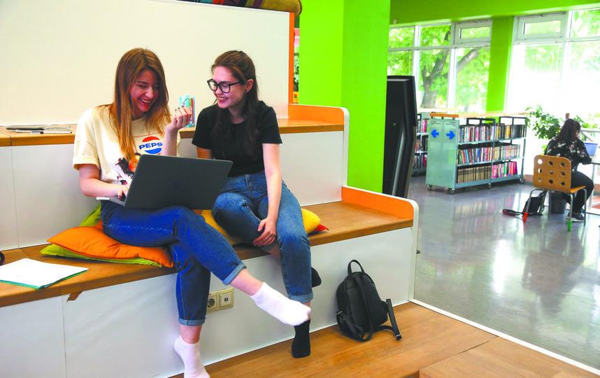 Библиотека молодёжи. Фото Василий Кузьмичёнок
