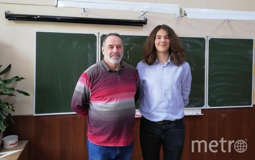Сергей Полянский и его ученик Алексей, фото сделано за несколько дней до трагедии. Фото Алексей Бажин