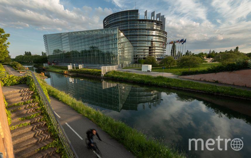 Здание Европарламента. Фото AFP